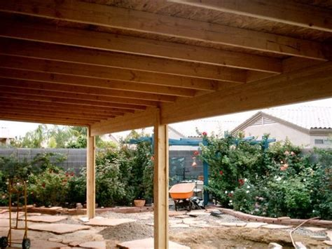 Patio Construction by A Solid Roof Patio Cover Construction Covered