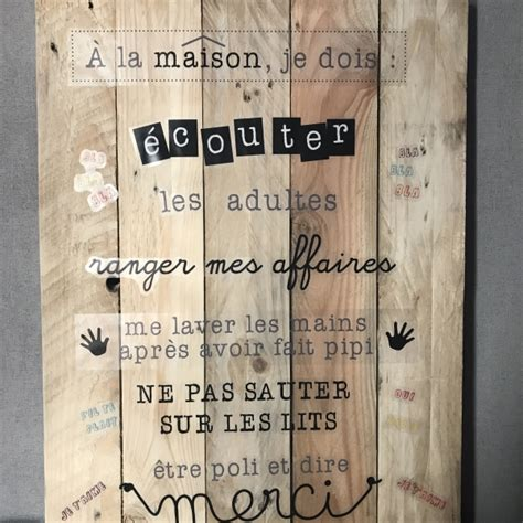 Tableau Regle De Vie by Tableau Regle De Vie A La Maison Avie Home