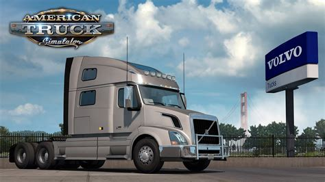volvo vnl  joining american truck simulator youtube