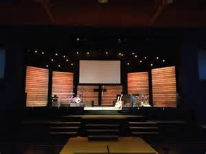 Image of: Thin Line Church Stage Design Idea Many Concepts Used In Church Stage Design