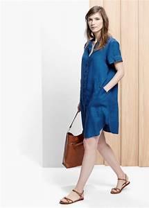 Pour choisir une robe robe longue jean denim for Robe jean mango