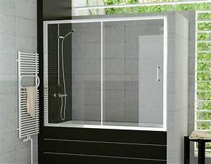 Duschwand Für Badewanne : duschwand f r badewannen schiebet r 120 x 150 cm mit ~ Michelbontemps.com Haus und Dekorationen