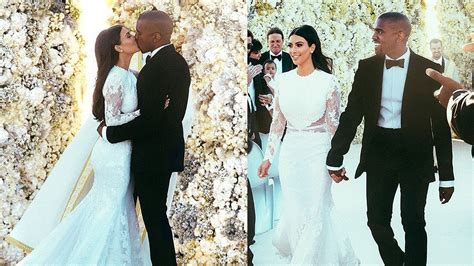 Kim Kardashian & Kanye West Wedding Photos!