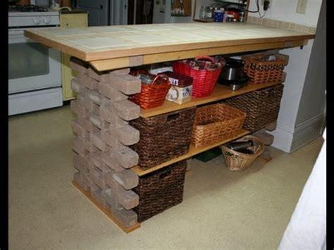 kitchen island diy plans diy kitchen island 5051