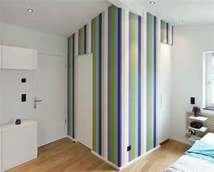 Farben Für Wände Ideen : mit farben und mustern die w nde gestalten ~ Markanthonyermac.com Haus und Dekorationen
