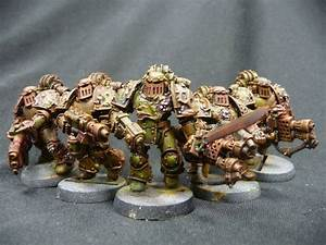 40k - Nurgle Havoc Chaos Space Marines by Solav ...
