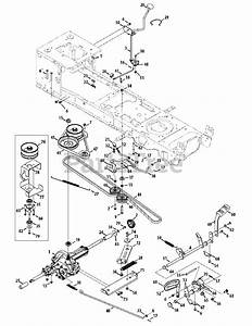 Cub Cadet Parts On The Drive System Diagram For Ltx 1040