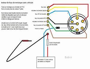 Cablage Attache Remorque : testeur de remorque 7 pins led c blage de circuit et prise 12v ~ Medecine-chirurgie-esthetiques.com Avis de Voitures