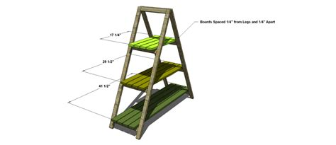 Free Woodworking Plans To Build An A-frame Plant Stand