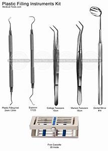 Dental Plastic Filling Instruments Kit Dental Instruments ...