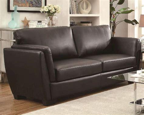Small Contemporary Sofas by Coaster Small Sofa W Contemporary Style Lois Co 5036 Sofa