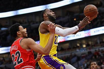 Lakers Bulls Chicago Angeles Vs Nba Play