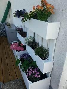 Kräutergarten Aus Europalette : blumenk sten aus paletten gro e deko pinterest ~ Bigdaddyawards.com Haus und Dekorationen