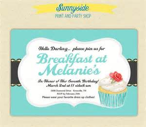 wording of wedding invitations 10 wonderful breakfast invitation templates free