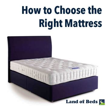 how to choose a mattress land of beds 2014 june how to