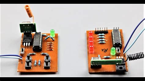 How Make Wireless Remote Control Circuit Home