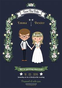 10 super adorable cartoon wedding invitations for the fun With funny animated wedding invitations