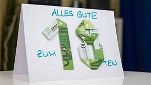 Geldgeschenke Zum 80 Geburtstag : geldgeschenk idee zum geburtstag bastel anleitung youtube ~ Frokenaadalensverden.com Haus und Dekorationen