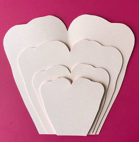 tissue paper rose template paper flowers pdf petal 79 wild rose paper flower
