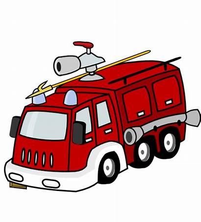 Fire Truck Clipart Cartoon Firetruck Clip Engine