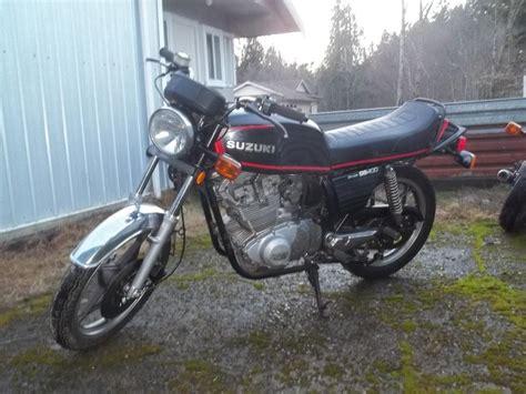 Victory Suzuki by 2 1980 Suzuki Gs 400 Motorcycles Outside