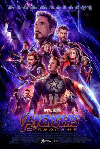New Avengers Endgame Poster Reveals The Team Collider