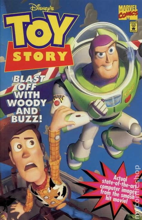 toy story  st series marvel comic books