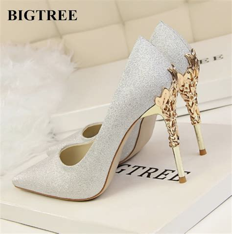 buy  bigtree shoes woman wedding shoes