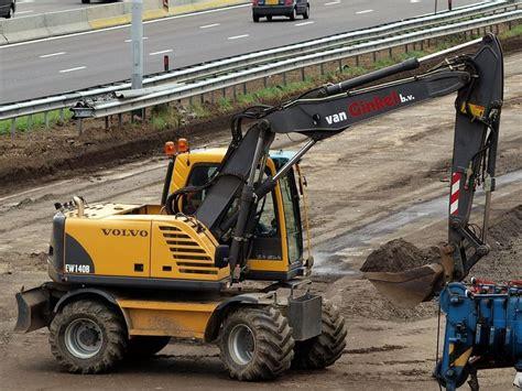 Excavator Volvo Ew 140