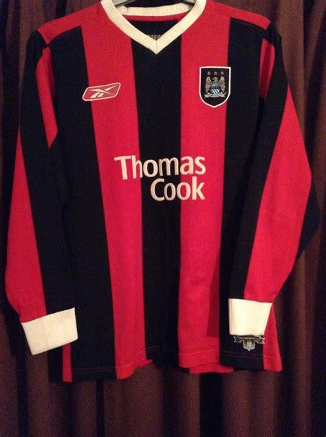 Manchester City Fora camisa de futebol 2004 - 2005 ...