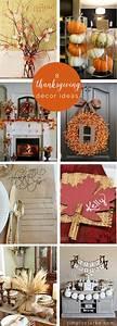 8, Thanksgiving, Decor, Ideas
