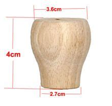 hmm rubber solid wood cabinet table foot mat ball