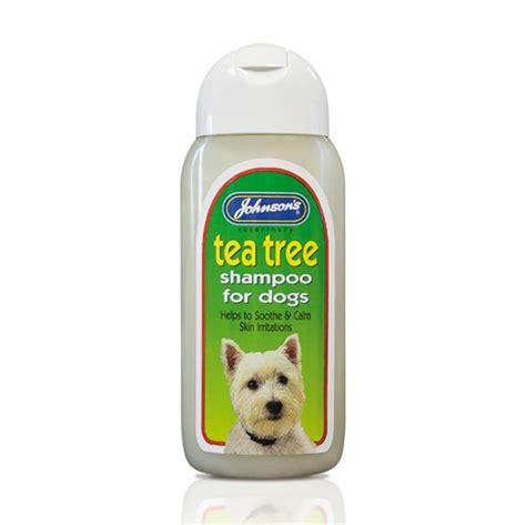 johnsons tea tree shampoo  dogs ml