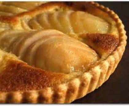cuisine bon marché tarte aux poires et crème amandine recette de tarte aux