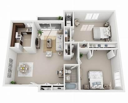 Bedroom Floor Layout Plans Apartments Park Lake