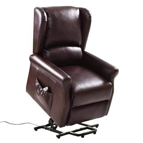 Automatic Recliner Chairs by Brown Electric Lift Chair Recliner With Remote