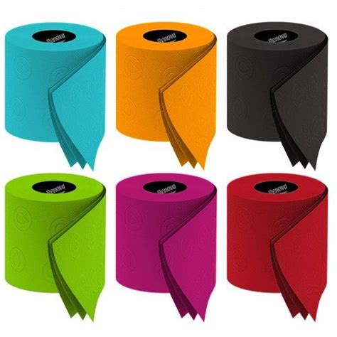 Colored Bathroom Tissue by Portuguese Innovation In The Toilet Tissue Industry