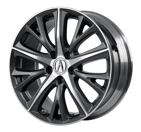 2016 acura ilx 18 quot diamond cut two tone accessory wheels
