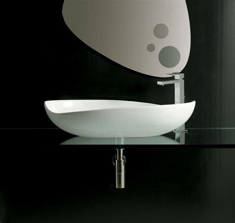 lavelli bagno da appoggio lavabo poison 75x43 cm