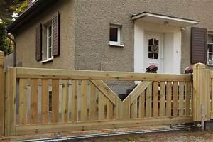 Gartentor Mit Holz Verkleiden