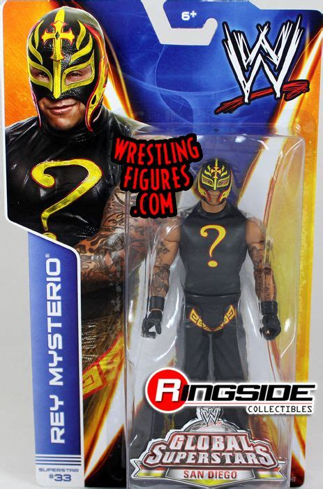 rey mysterio wwe series  ringside collectibles