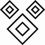 Tile Border Monochrome Pattern Icon Gloss Tiles