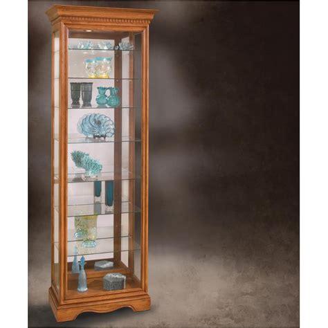 philip reinisch oak curio cabinet 54551 philip reinisch company oak octave curio cabinet