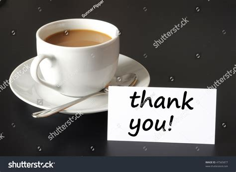 Thank You Thanks Concept Cup Coffee Stock Photo 47565877 Octane Coffee Instagram Free Iced Day Starbucks Kaka Cafe (coffee Juice & News) Vending Machine Nz News Whangarei Zillmere Brain Oil Recipe Aliexpress