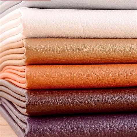 Where To Buy Leather Fabric For Upholstery by 50x68cm Pu Synthetic Leather Material Leather Upholstery