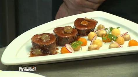 recette cauchemar en cuisine recette pas à pas du magret de canard farci au foie gras