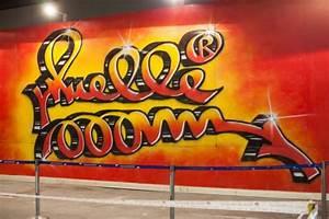 El graffiti olvidado de Muelle ve la luz en el Mulafest (FOTO)