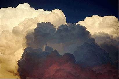 Clouds Cloud Sky Animated Nature Storm Giphy