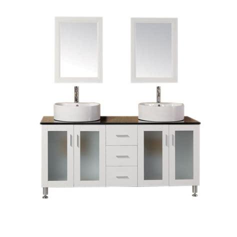 design element malibu 60 in w x 22 in d vanity in