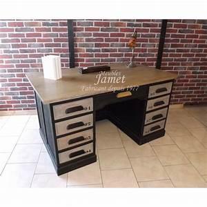 Bureau Type Industriel : bureau style industriel meublesjamet ~ Dode.kayakingforconservation.com Idées de Décoration
